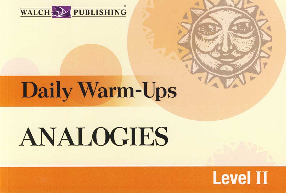 Daily Warm-Ups Analogies II Activity Book