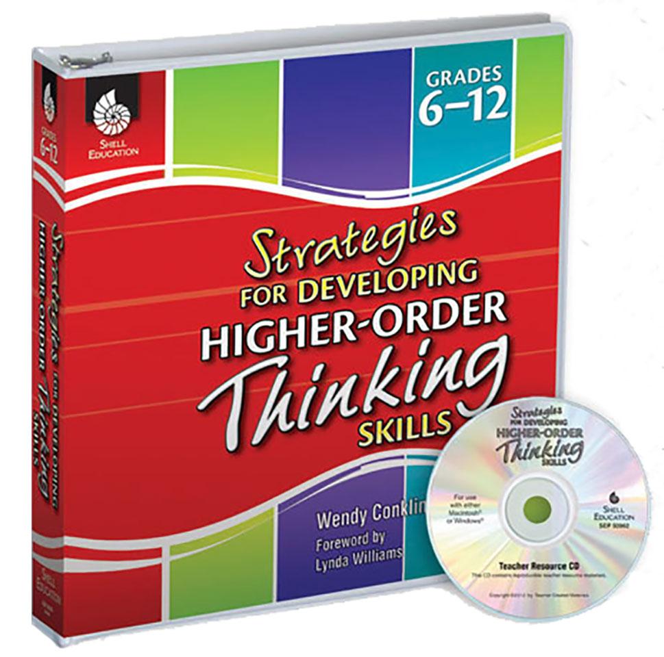 Strategies for Developing Higher-Order Thinking Skills Binder