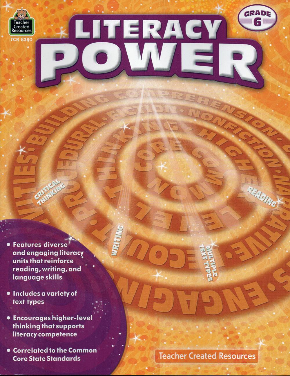 Literacy Power Activity Books