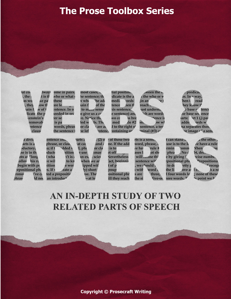 Prose Toolbox: Verbs and Adverbs Unit
