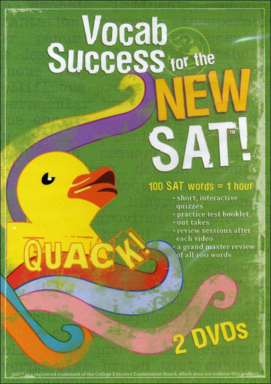 Quack! Vocab Success for the New SAT, Volume 1-5