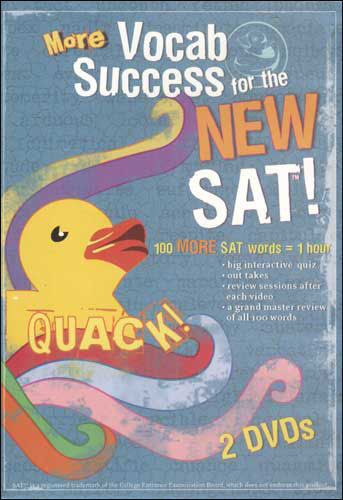 Quack! Vocab Success for the New SAT, Volumes 6-10