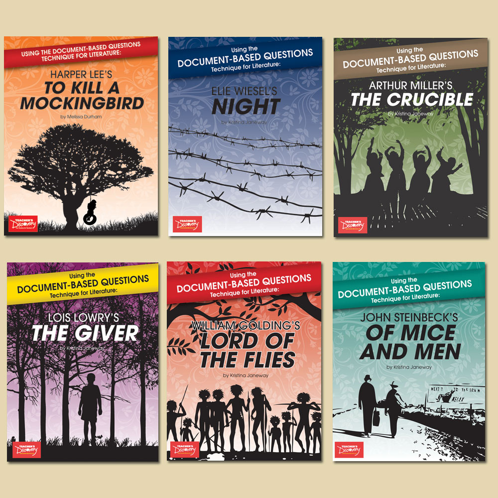 Using the Document-Based Questions Technique for Literature: Set of All 6 Books