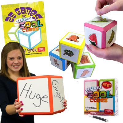 French Mega Set!  Erasable Cool Cube™ Set of Everything