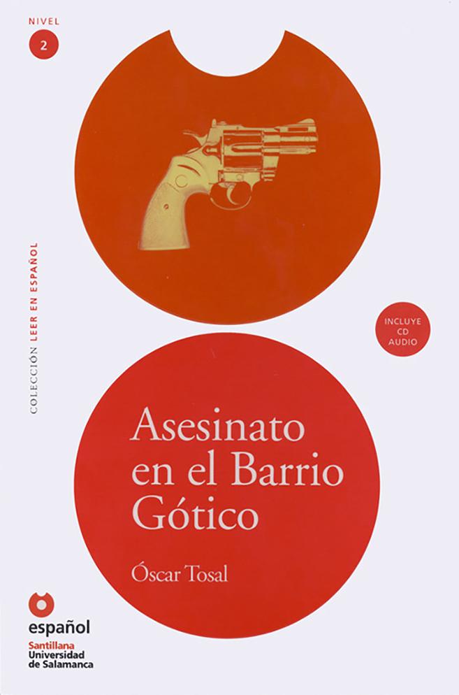 Murder in the Gothic Neighborhood Spanish Book & CD