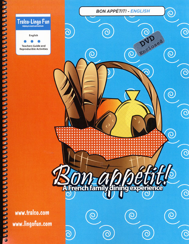 Bon Appetit! Activity Book/DVD