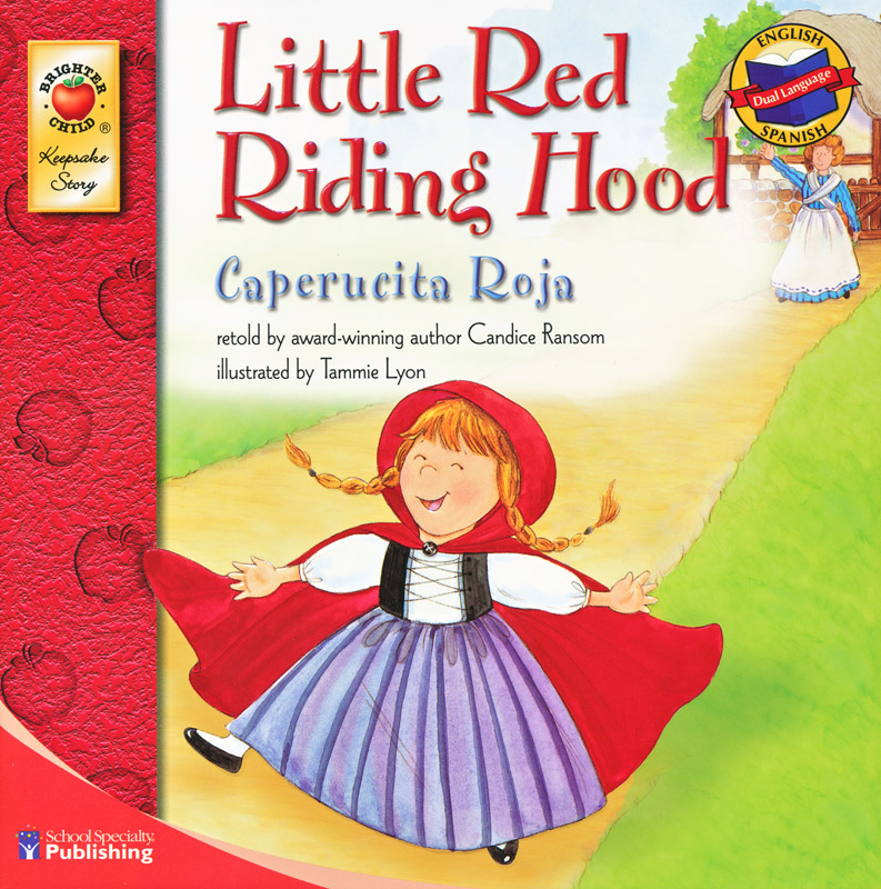Little Red Riding Hood Spanish/English Book