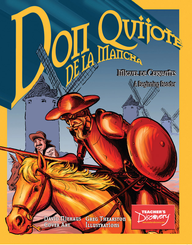 Don Quijote Level 1 Spanish Graphic Reader