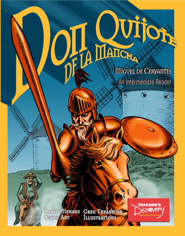 Don Quijote Intermediate Spanish Graphic Reader