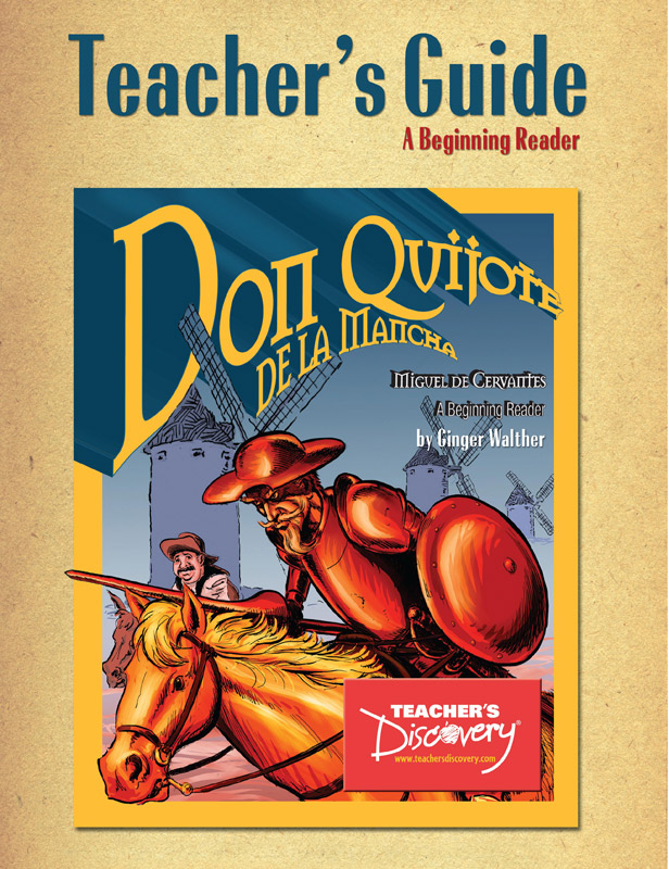 Don Quijote Beginning Spanish Reader Teacher's Guide