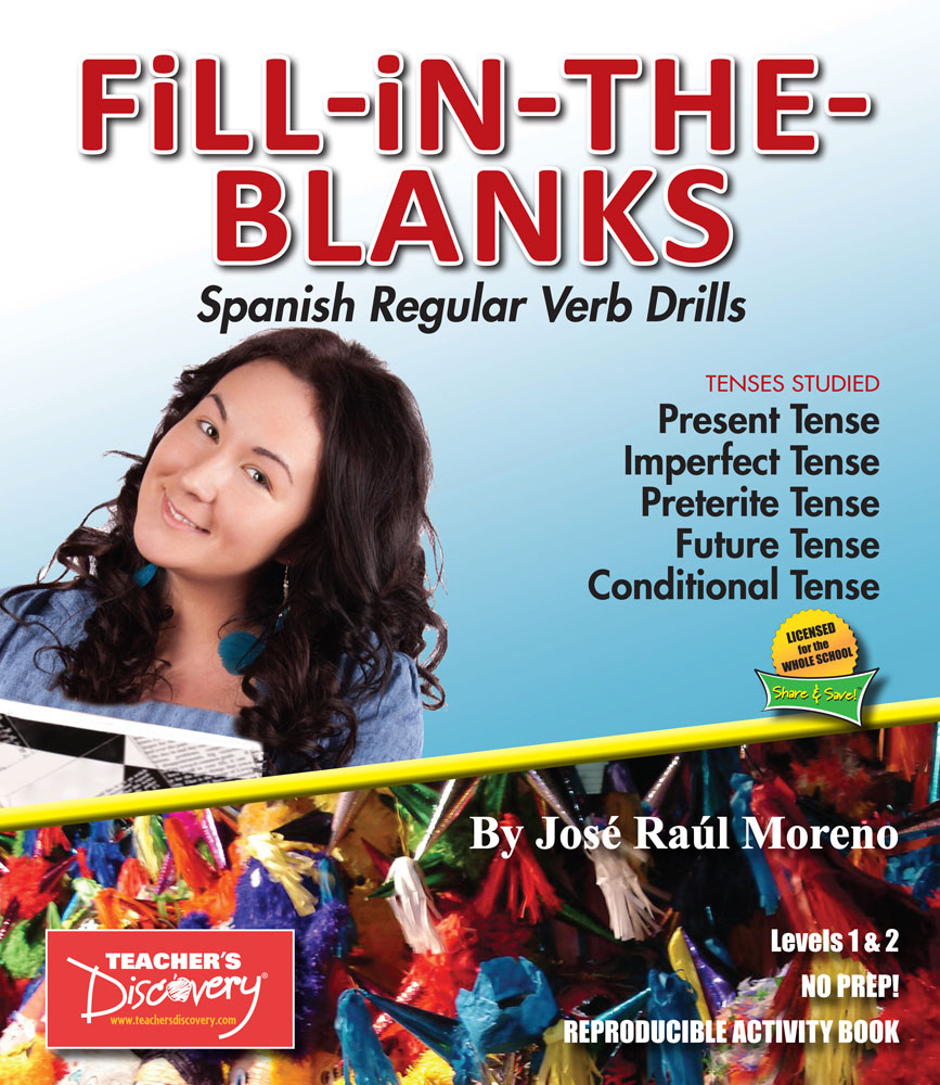 Fill-in-the-Blanks Spanish Verb Drills Book