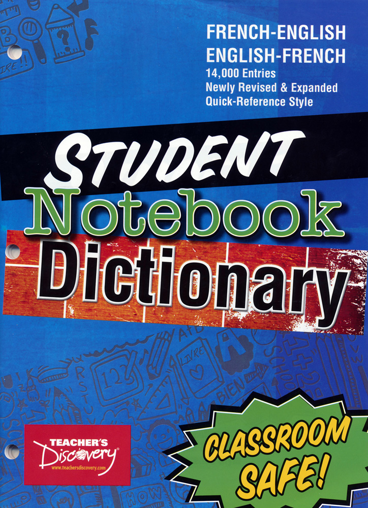 French Notebook Dictionary