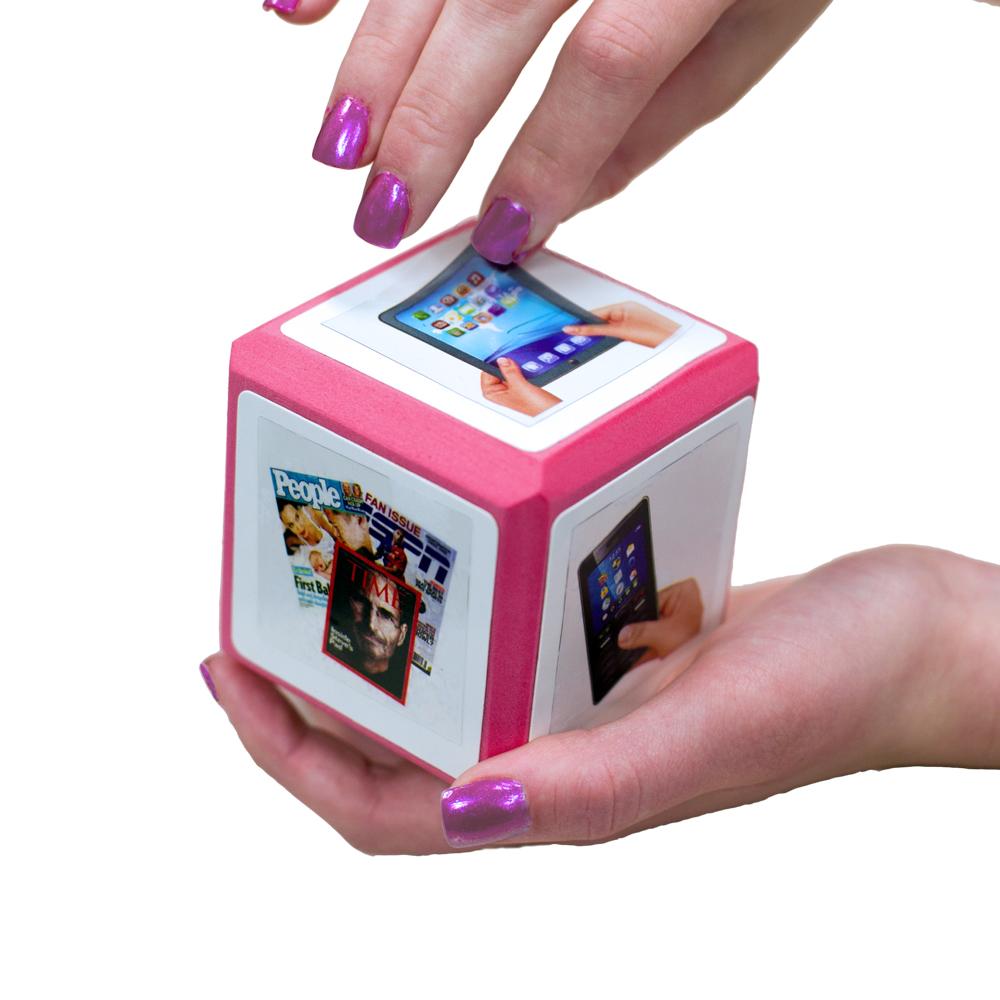 Erasable Cool Cubes™ Cling Sets