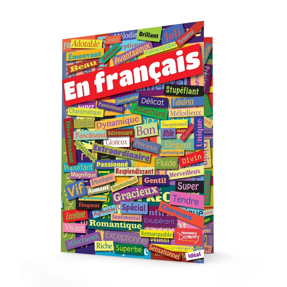 French Adjectives Folders