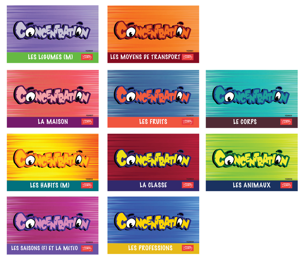 French Concentration Games