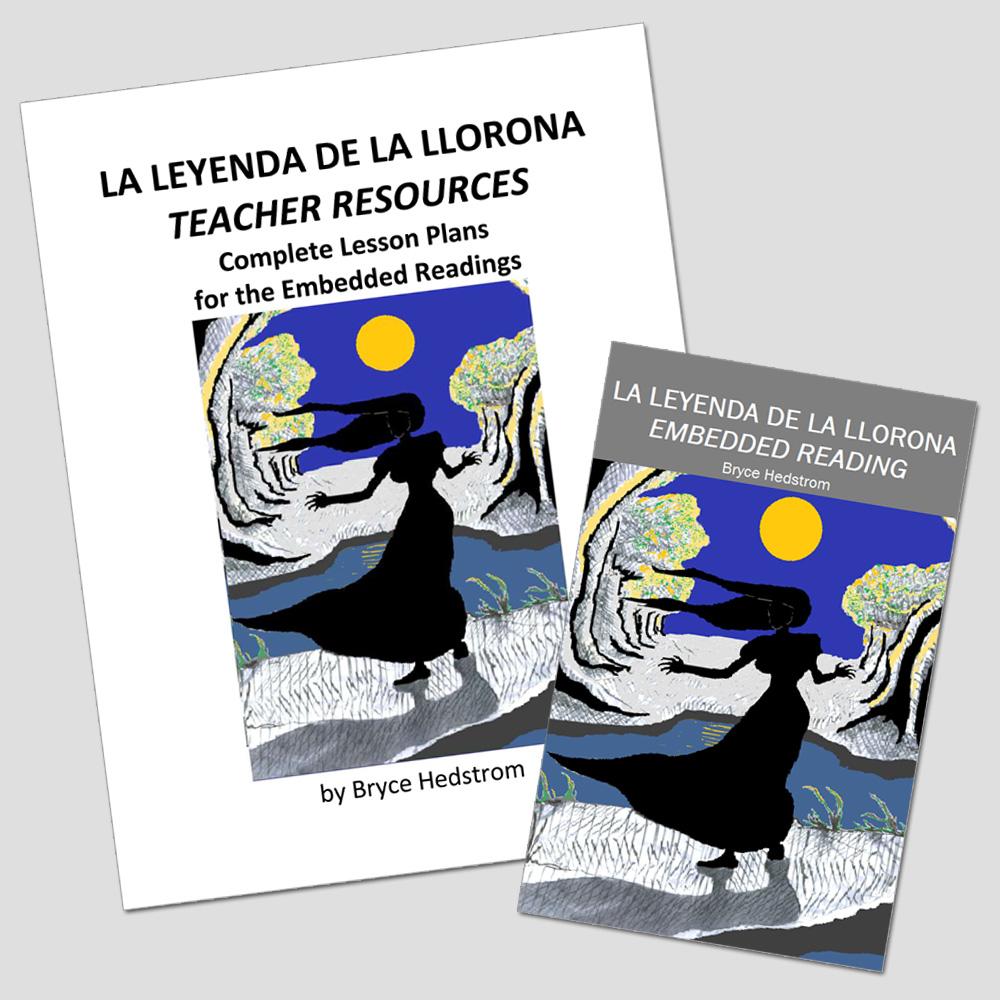 La Leyenda de La Llorona Embedded Reading Unit