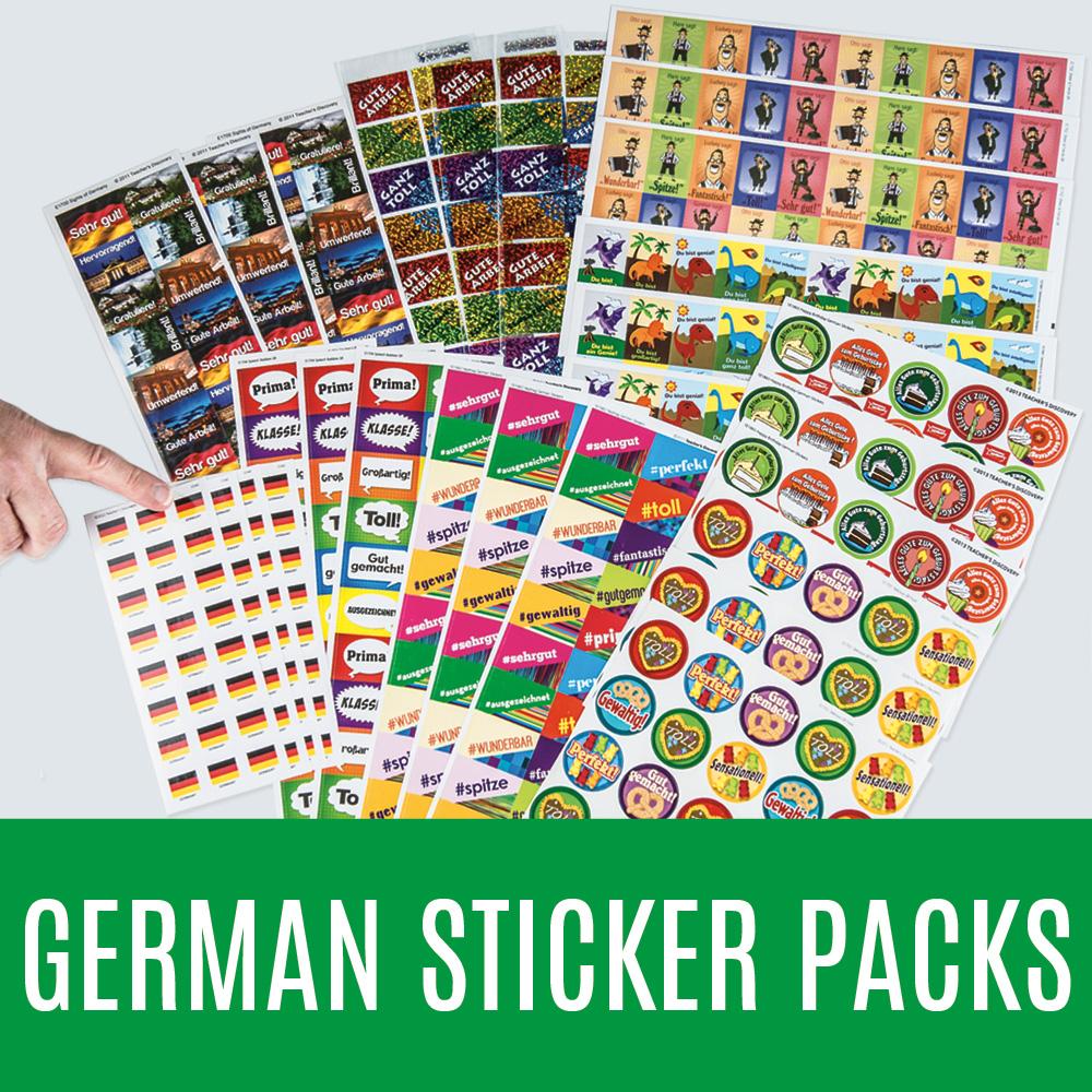 German Sticker Packs