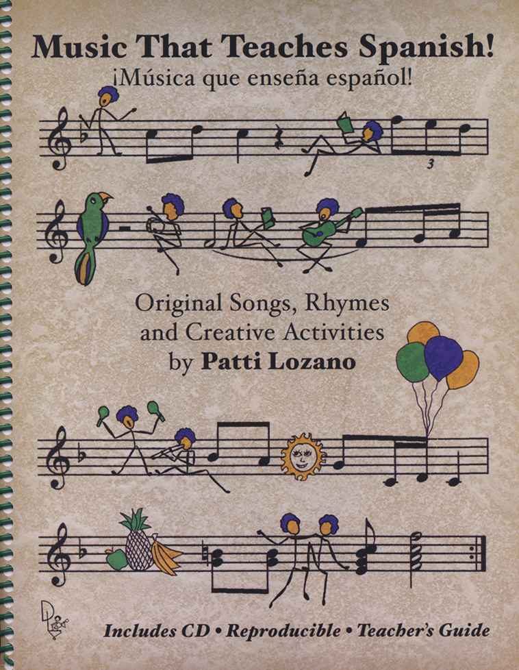 Music That Teaches Spanish Book and Music CD