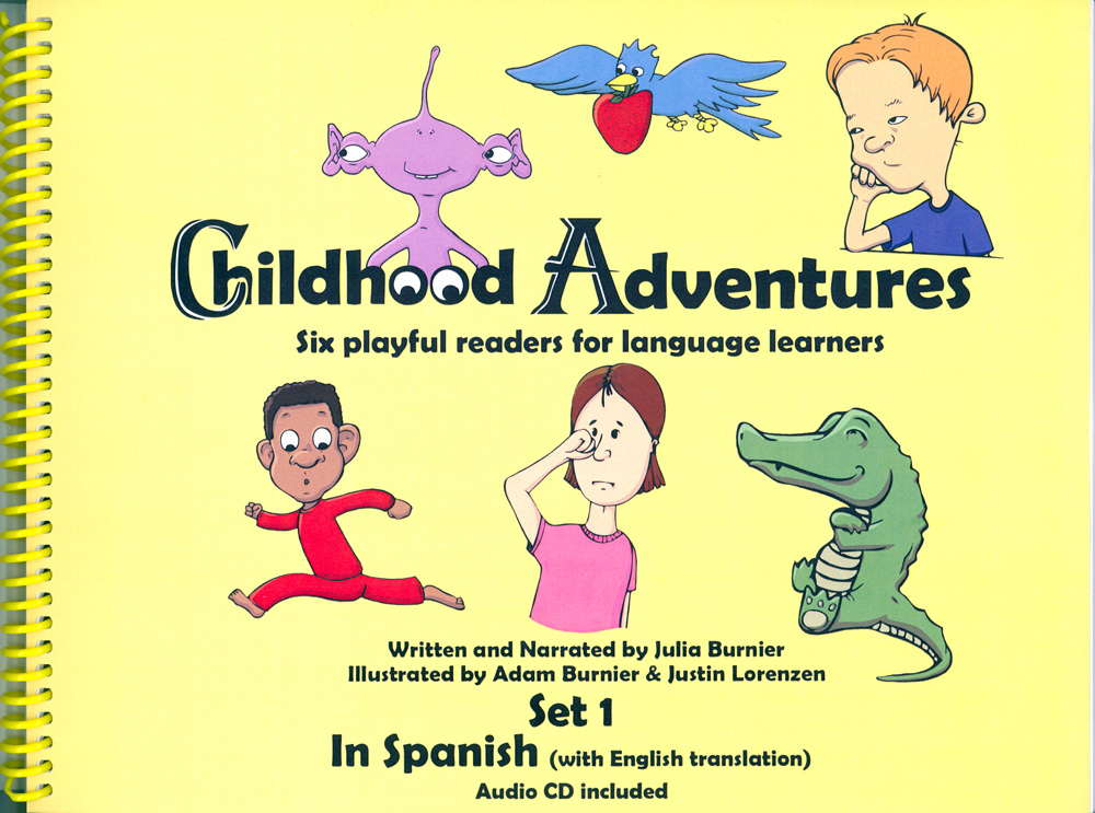 Childhood Adventures Set 1 Spanish Book with CD