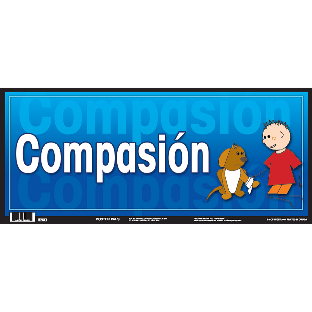 Compassion Spanish Door Sign