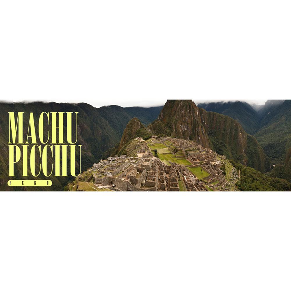 Machu Picchu, Peru Panoramic Poster