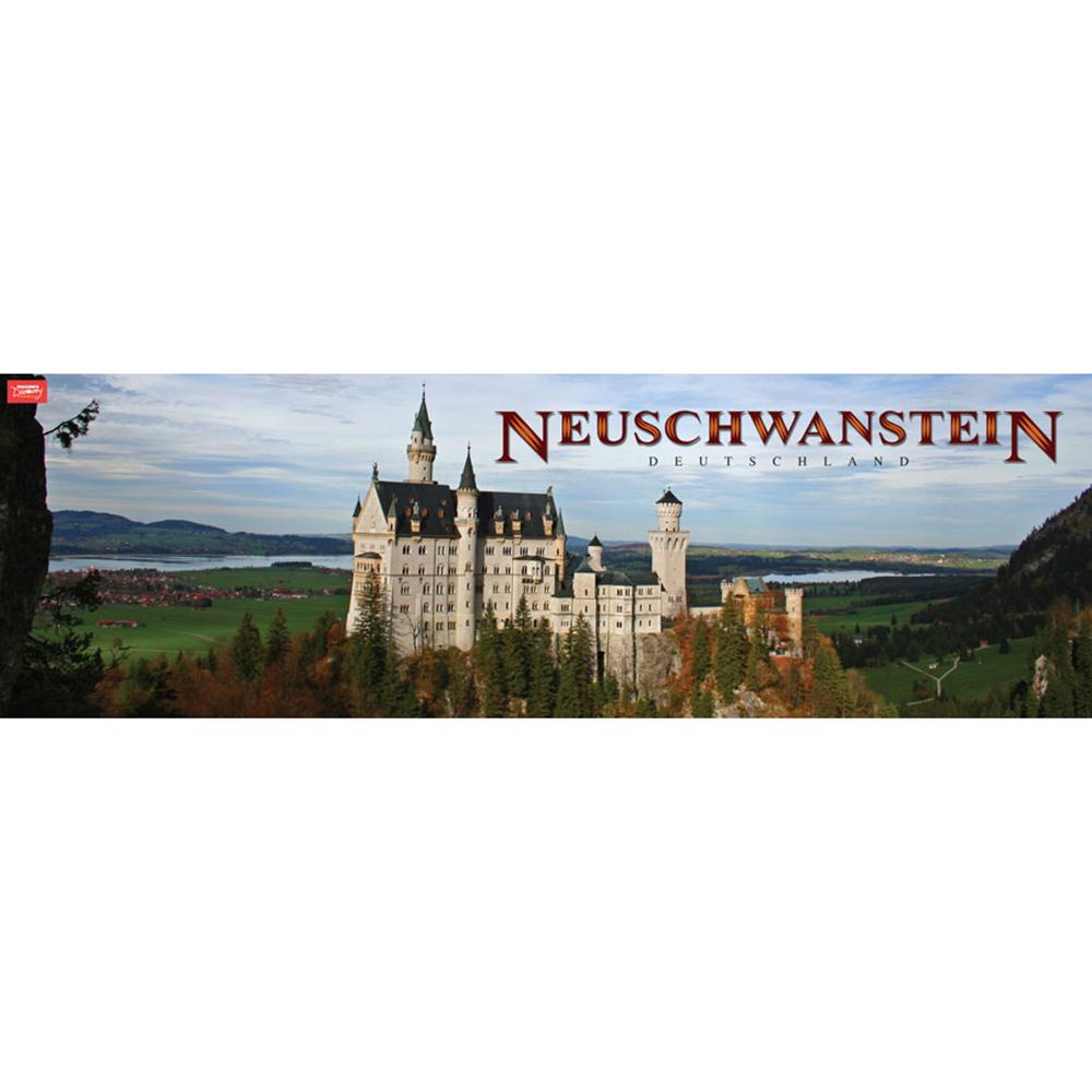 Neuschwanstein Panoramic Poster 2012
