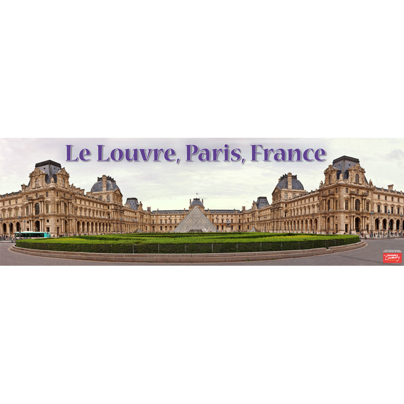 Le Louvre Panoramic Poster (2013)