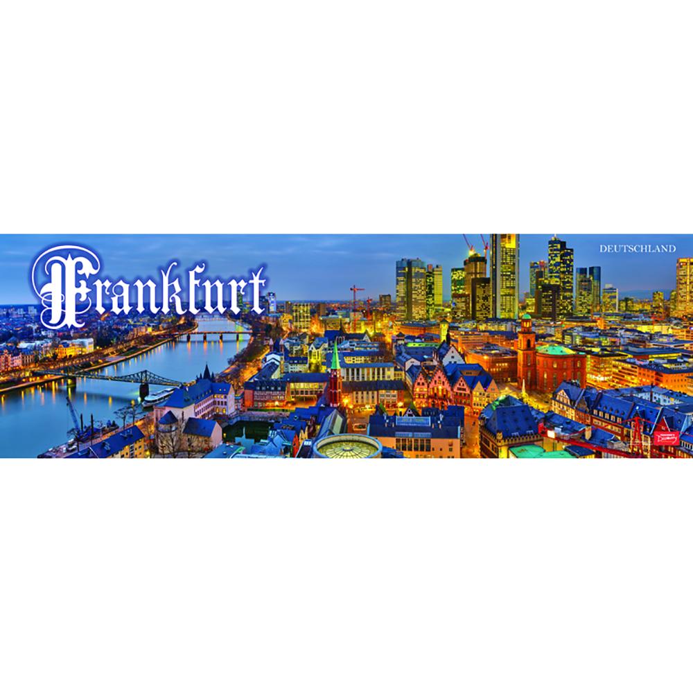 Frankfurt Panoramic Poster (2013)