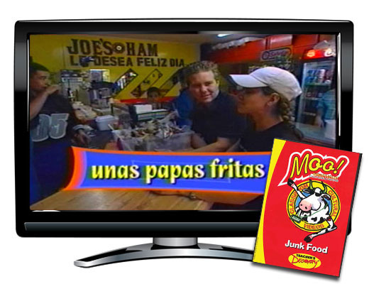 Junk Food Vocabulary Spanish DVD