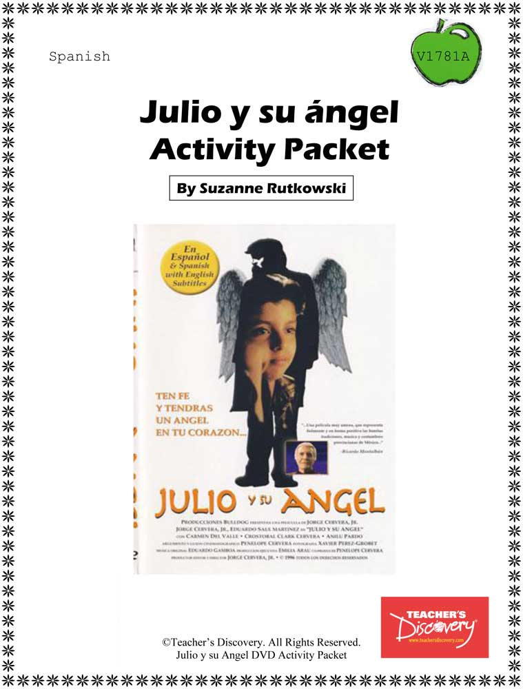Julio and His Angel Spanish Activity Packet