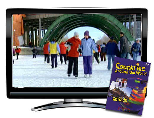 Canada Countries Around the World DVD
