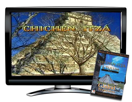 Global Treasures Chichen Itza and Tulum DVD