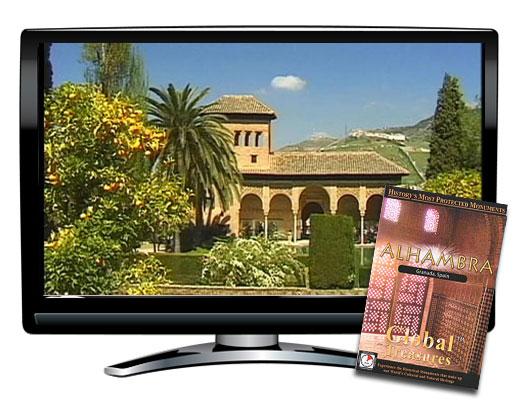 Global Treasures Alhambra Granada Spain DVD