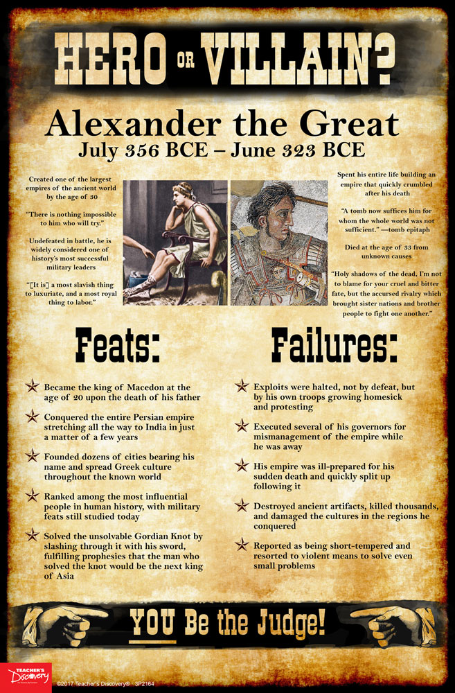 Alexander the Great: Hero or Villain? Mini-Poster