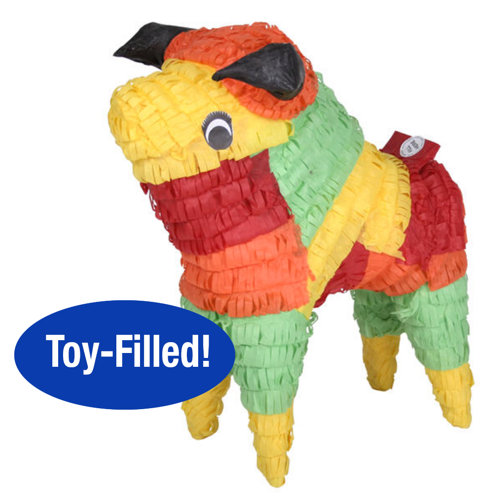 Toy-Filled Bull Pinata