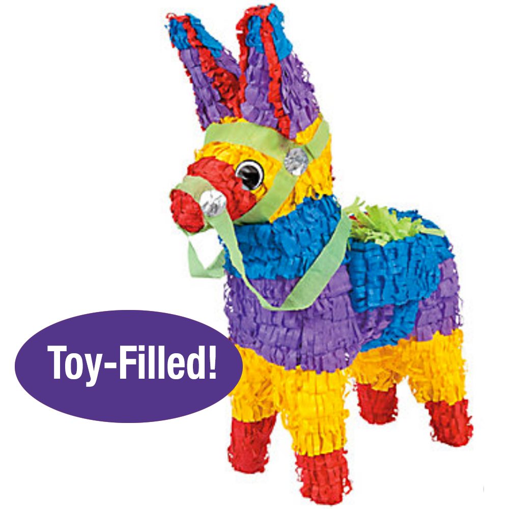 Toy-Filled Burro Pinata