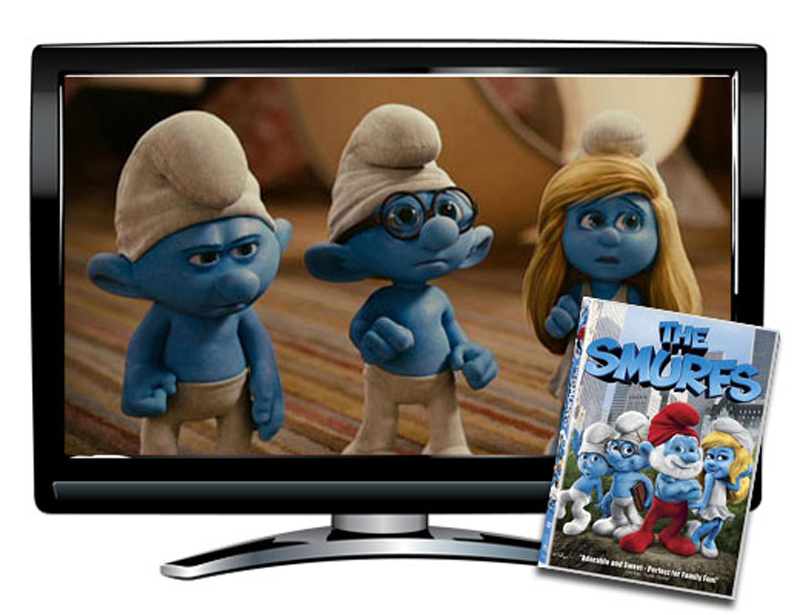 The Smurfs DVD