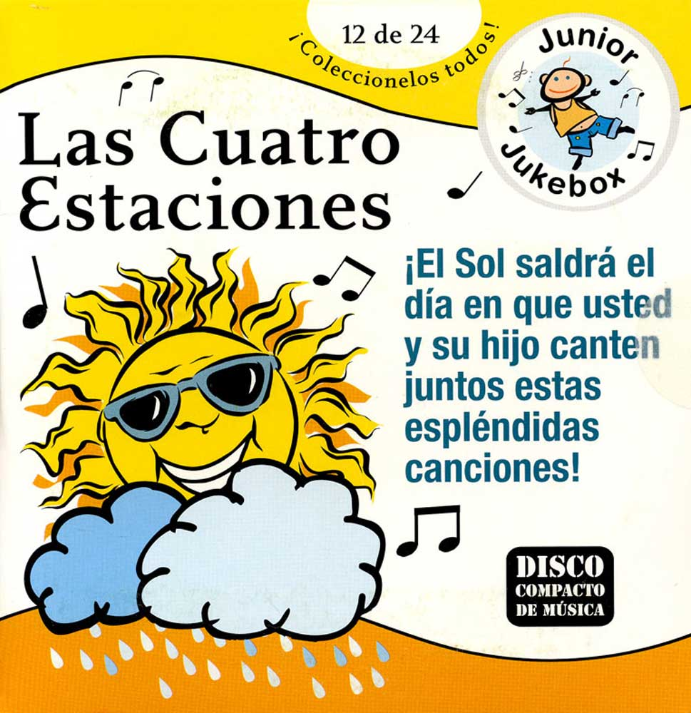 Las Cuatro Estaciones Spanish CD