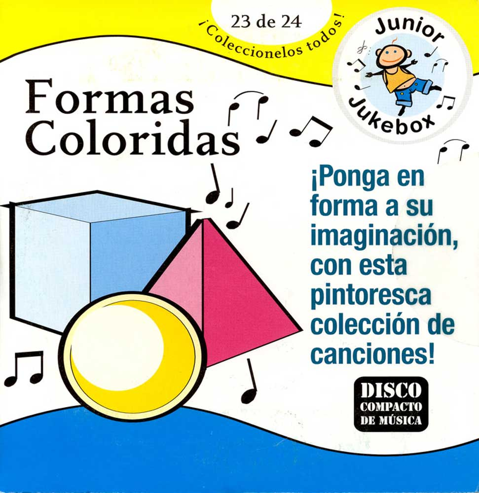 Formas Coloridas Spanish CD