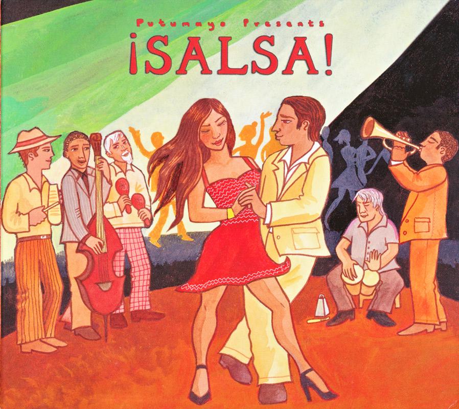 Putumayo ¡Salsa! CD