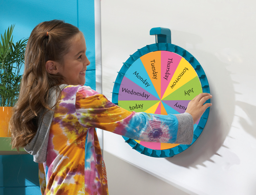 Magnetic Spin Wheel and Activity Packet