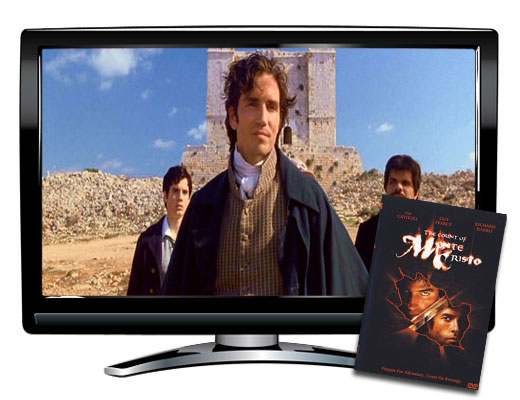 The Count of Monte Cristo French/English DVD