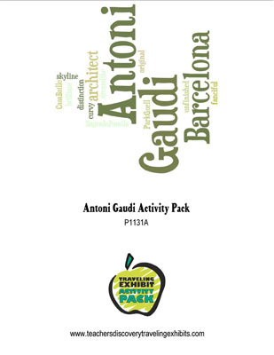 Antoni Gaudi Activity Packet Download