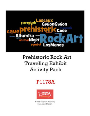 Prehistoric Rock Art Exhibit Activity Packet Download