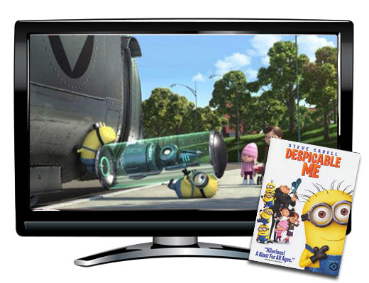 Despicable Me Spanish/French DVD
